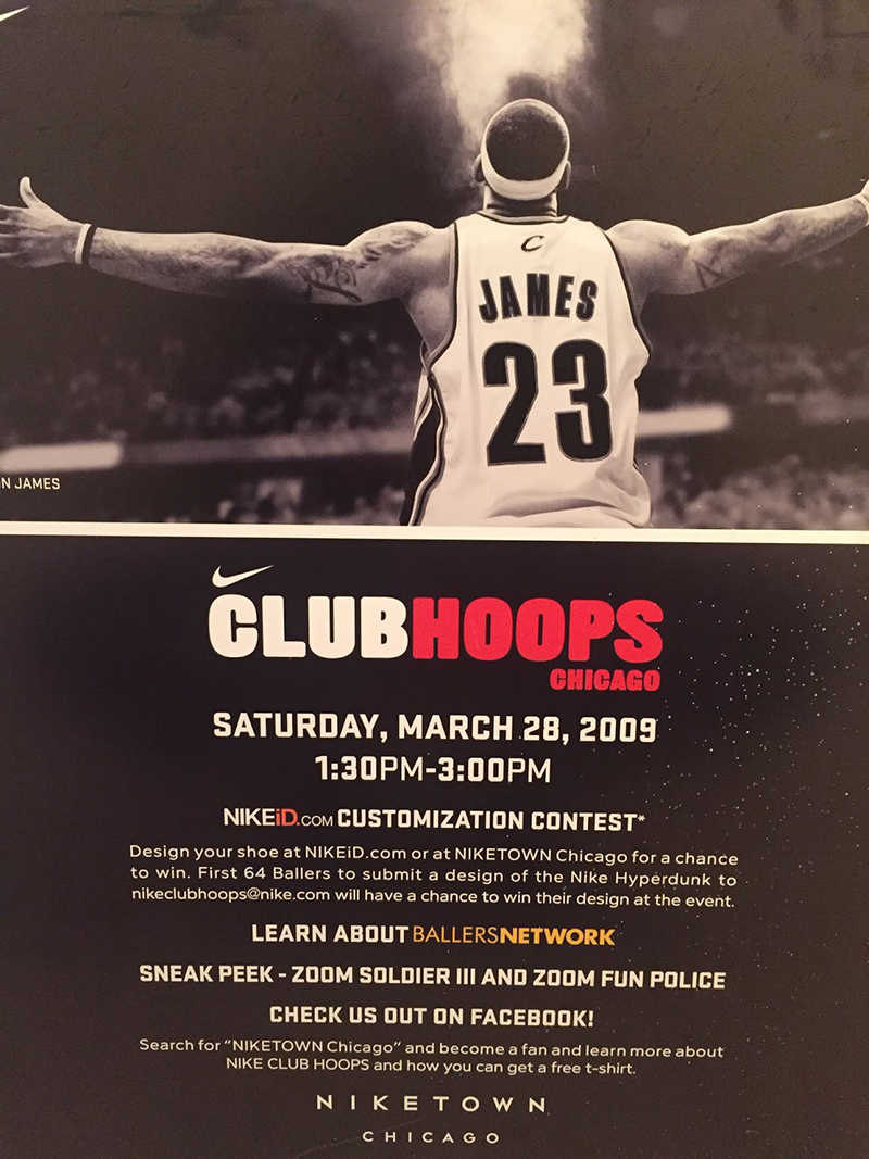 Nike Club Hoops Chicago (clients). January 3 649cc40645cb